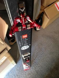 Set ski Rando: Movement Rise Pro + dynaf