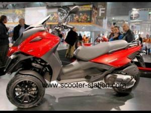 Scooter Gilera Fuoco 500