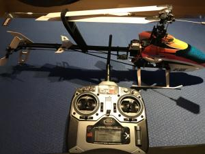 Hélicoptère BLADE 450 3D