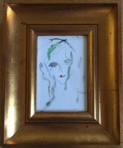 3 tableaux Treccani portraits à vendre