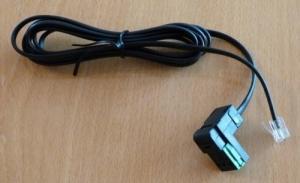 Lot de 5 câbles téléphone RJ11 - Reichle