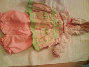 Habits baby born vert rose