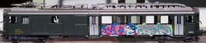 "HAG Ho 090 BDe 4/4 SBB ""Graffiti"" AC digital BO 152"