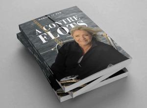 A contre flots dédicacé par Marine Le Pen