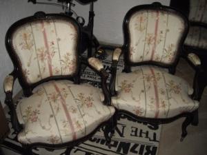2 fauteuils Napoléon III