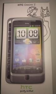 HTC Desire Z (Achat ou Echange)