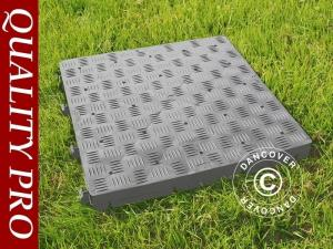 Kunststoffboden PRO 18 m², Grau