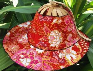 chapeau chinois 2 en 1