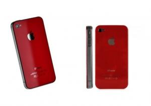 Coque iphone 4g Rouge www.memoshop.ch