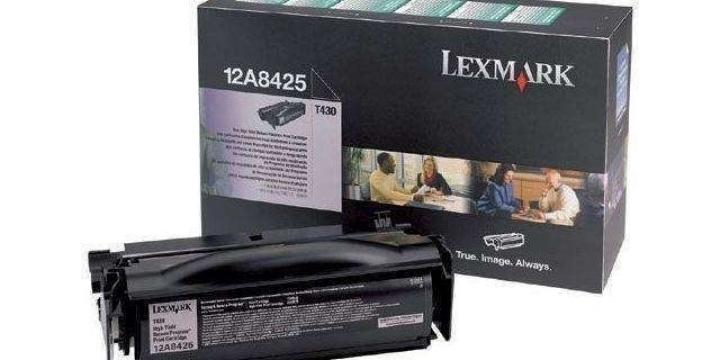 Toner Lexmark T430 12A8425 Original 12000 pages, Noir