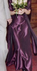 Magnifique robe de mariage ou robe de soirée taille 34