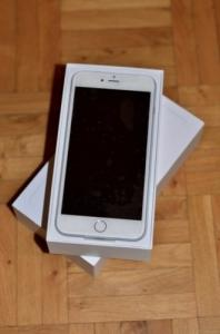 Apple iPhone 6 Plus 128 Gig Silver