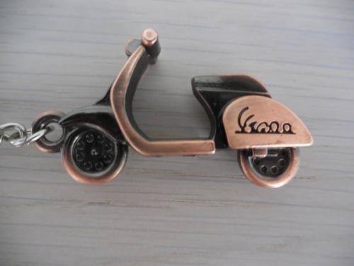 Porte-clés, porte-clefs, moto, scooter, vespa