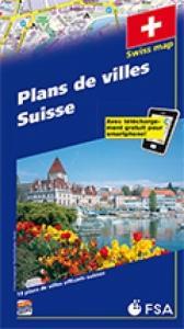 Plans de villes de 19 villes en Suisse