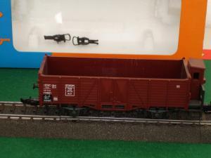 Roco HO 4390A Wagon tombereau à guérite de la DB