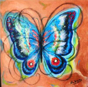 Papillon d'automne