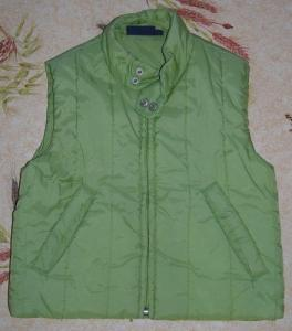 Gilet vert - taille 116