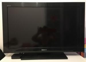 TV Sony Bravia noir