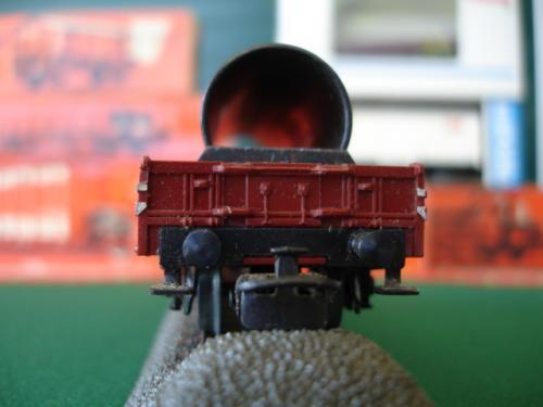 Märklin Ho 4616 wagon DB plat Mannesman av tube métal
