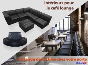 Intérieurs pour le café lounge