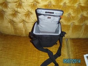 sac noir pour appareil photos réflex