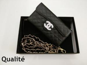Coque pochette iphone 4 5 6 6+ de luxe