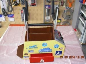 Caisse de terrain,1 tiroir + power panel