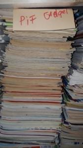 Lot 200 magazines Point de vue 1960-1990