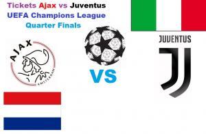 4 billets Ajax vs Juventus - Champions League 2019