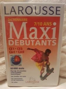 Dictionnaire Larousse Maxi Débutants