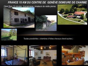 FRANCE DEMEURE DE CHARME ferme15 km du centre de Genève.