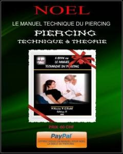 "Formation Piercing"" Le manuel Technique"""