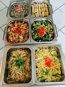 Cuisine asiatique pour fêtes et anniversaires