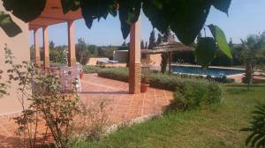 A vendre au Maroc une jolie villa+piscine privee