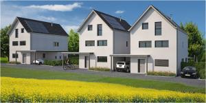 3 Villas familiales à Villars-le-Grand