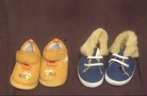Taille 18 - Lot chaussures
