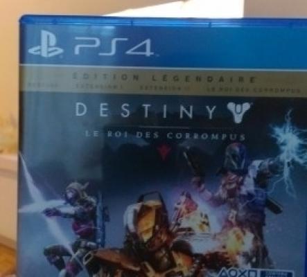 Destiny le roi des corrompus PS4