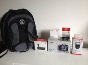 Canon EOS 7D 18-135mm + accessoires