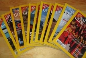 Les revues du national geographic