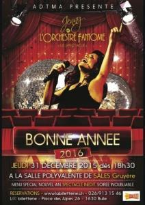 31.12.15 Jenny et l'Orchestre Fantôme