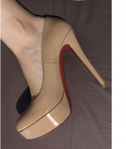 CHRISTIAN LOUBOUTIN - Bianca leather - Taille 38.5