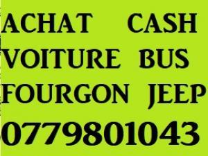 Achat cash.Voitures+ Utilitaires tle 0779801043