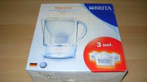 Brita Marella Blanc + 3 cartouche Maxtra