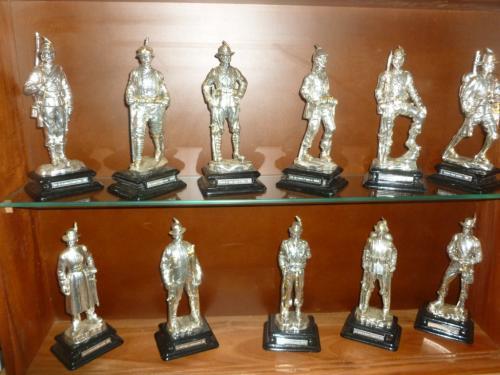 collection de figurines militares