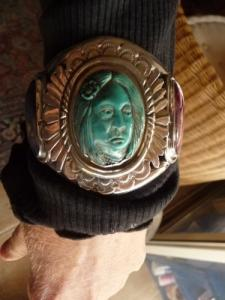 bracelet amerindien argent sterling
