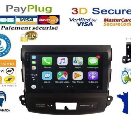 Autoradio GPS Bluetooth camera toutes marques (PRO)