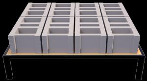 Machine de fabrication de Brique/parpaing et pavé