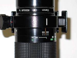 Objectif Canon FD 400 mm 1:4,5