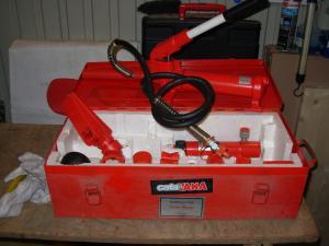 Kit de presse hydraulique 7,5T de 16 pièces