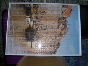 Tableaux - puzzles dans cadre neuf